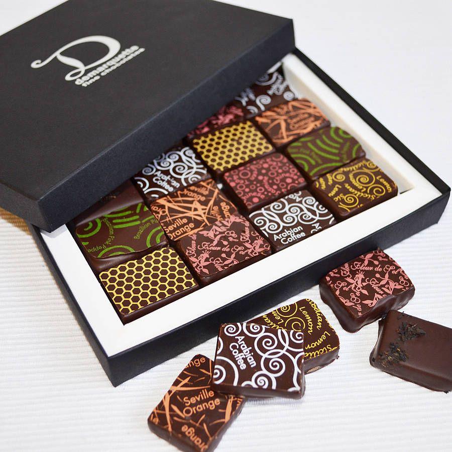 Gift selection box 16 chocolates luxury chocolate couverture gift selection box 16 chocolates negle Choice Image
