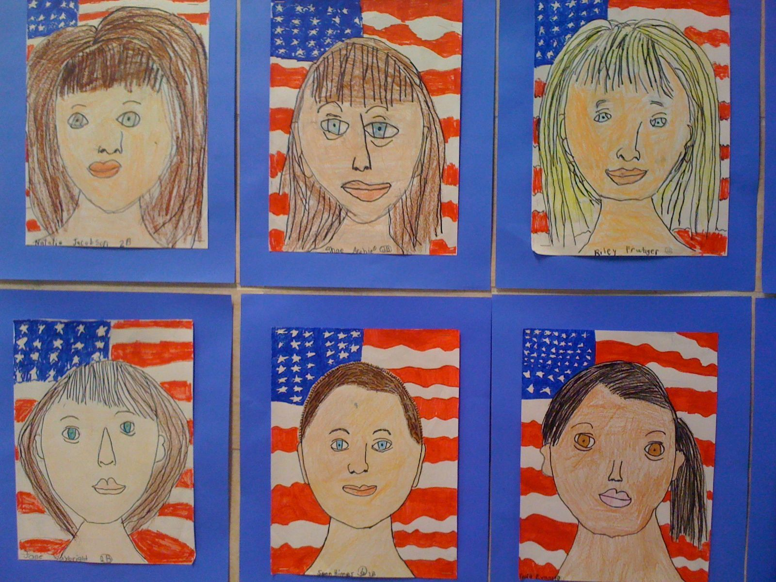2nd Grade Self Portraits With Images