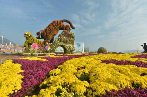 Masan Gagopa Chrysanthemum Festival (마산 가고파국화축제), Korea   NonPeakTravel.com