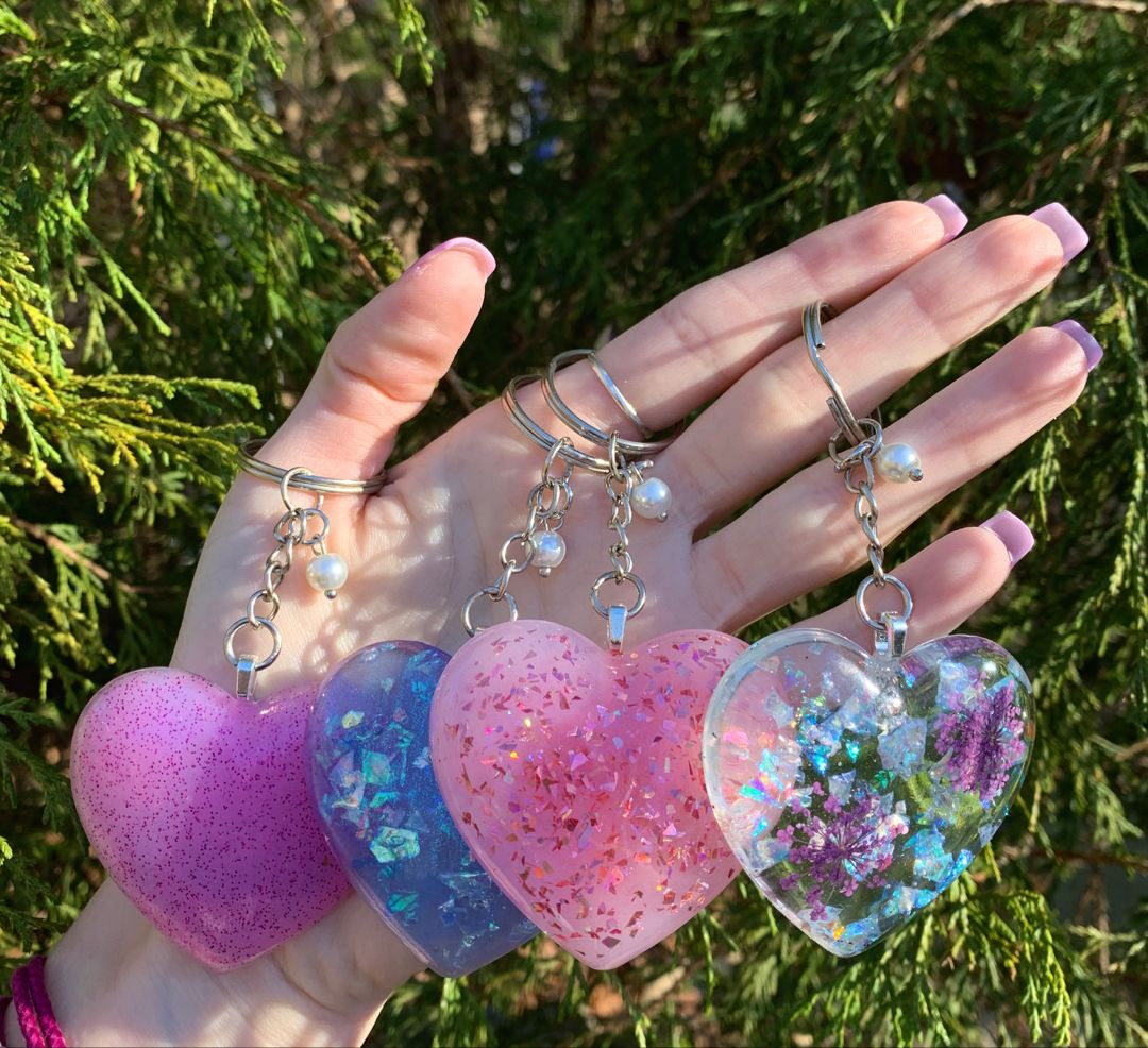 Photo of Heart Keychains