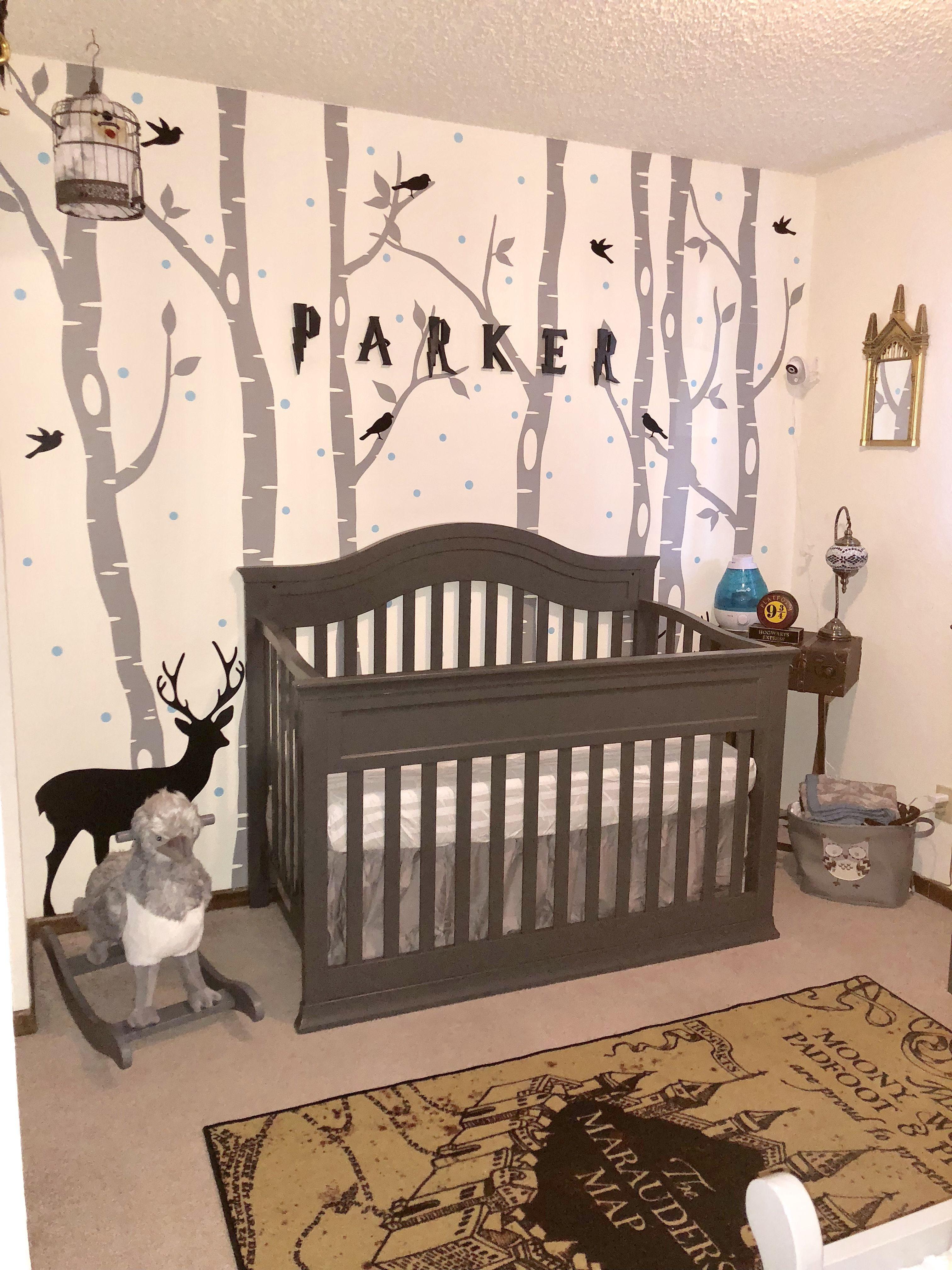 Harry Potter nursery theme (With images)  Harry potter bedroom