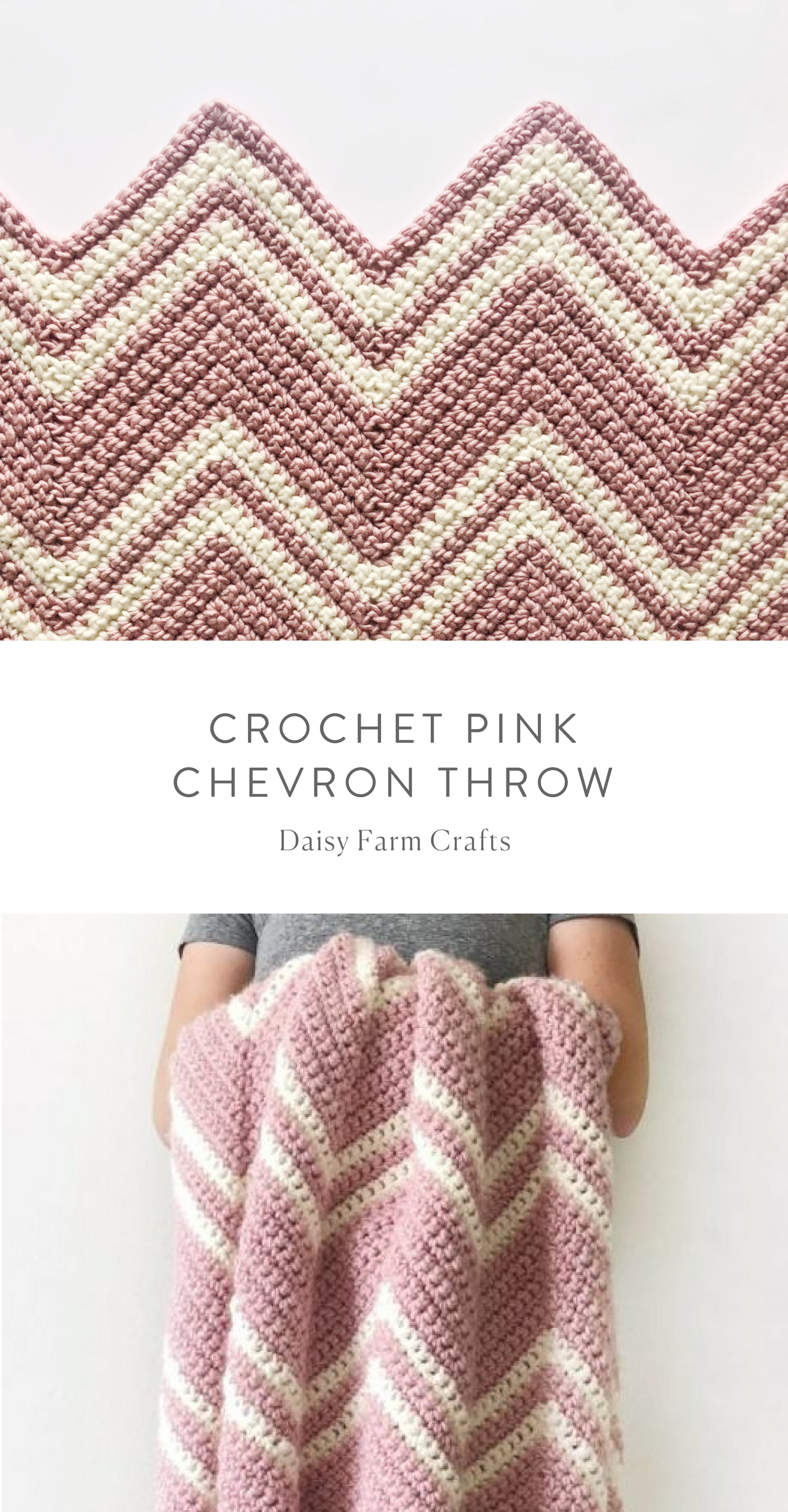 Pink Chevrons Blanket