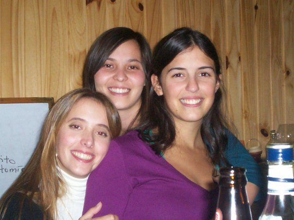 Con Pau & Vicky. Time time ago...