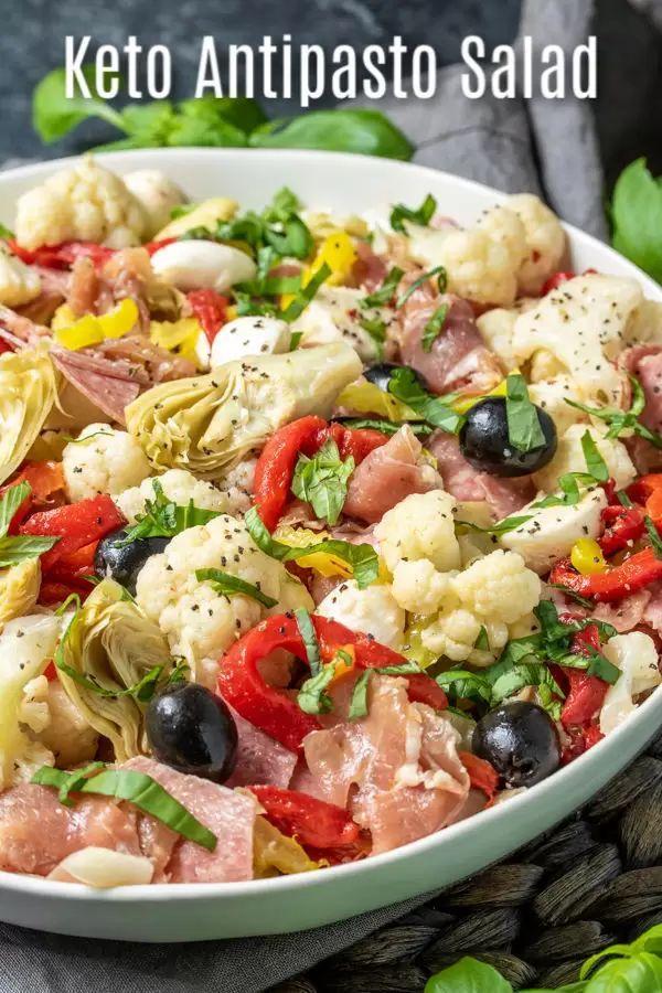 Photo of Keto Antipasto Salad