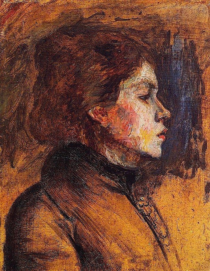 Toulouse-Lautrec, Henri de - Woman's Head