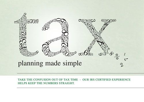 Planning Made Simple Postcard 140370 - sharpercards.com/finance #financal #insurance #marketing