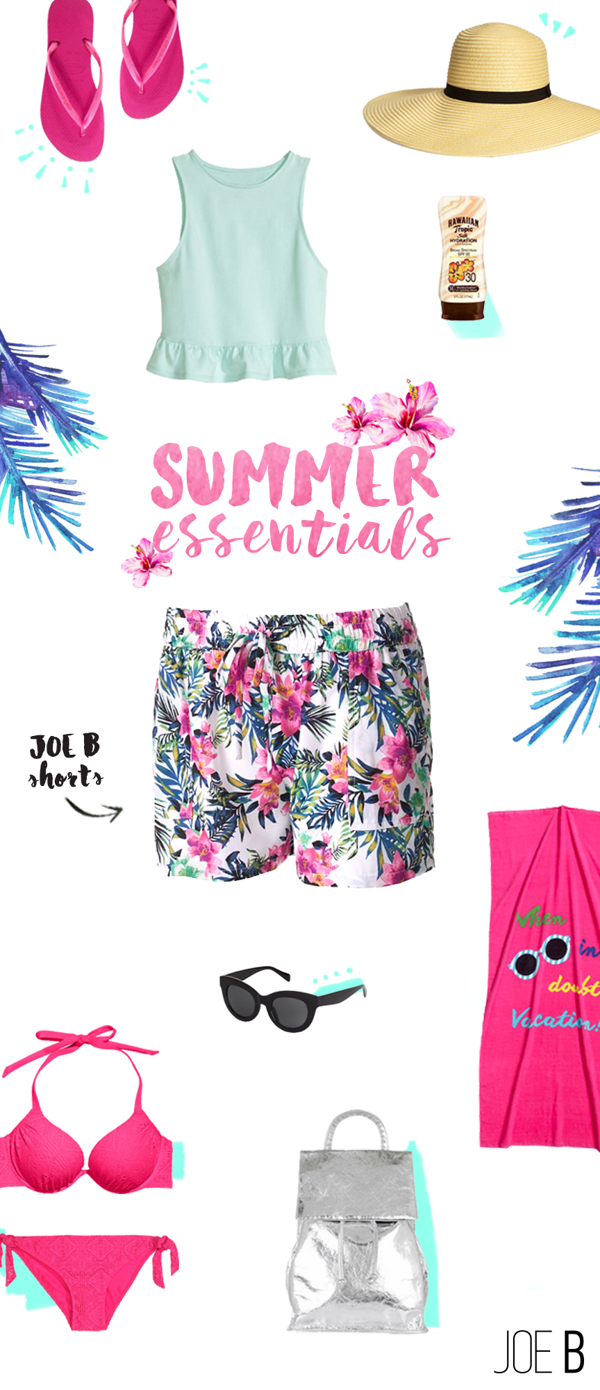 Juniors Joe B Soft Challis Shorts Fashion Clothes Summer Essentials