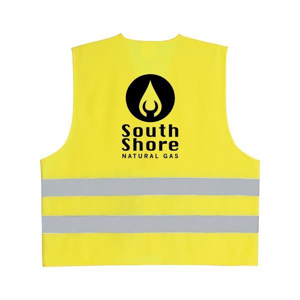 Reflective Safety Vest Safety vest, Custom logos, Vest