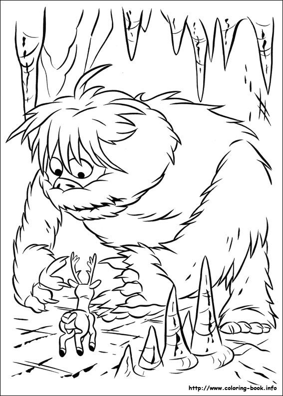 Rudolph the Red-Nosed Reindeer coloring picture   Coloring Pages ...