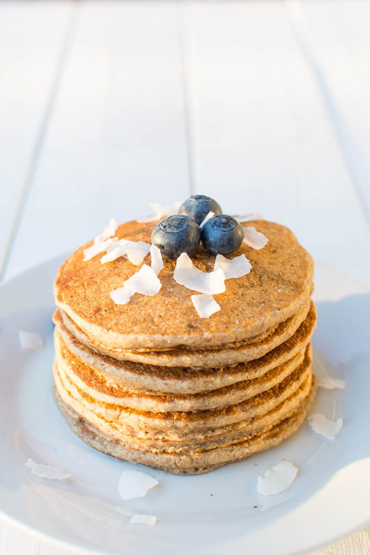 Saftige Haferflocken-Pancakes #sugarfreedesserts