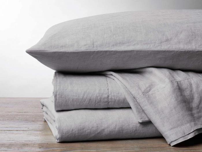 Organic Relaxed Linen Sheets Coyuchi Organic Bedding Linen Bedding Natural