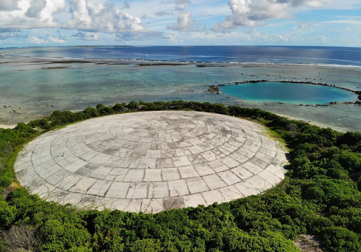 High Radiation Levels Found In Giant Clams Near U S Nuclear Dump In Marshall Islands Marshall Islands Island Groundwater