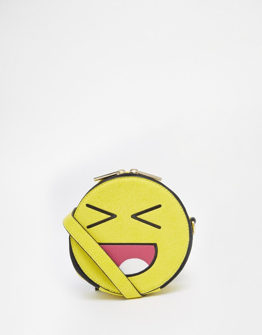 5e466952f0 Skinnydip Emoji Face Crossbody Bag