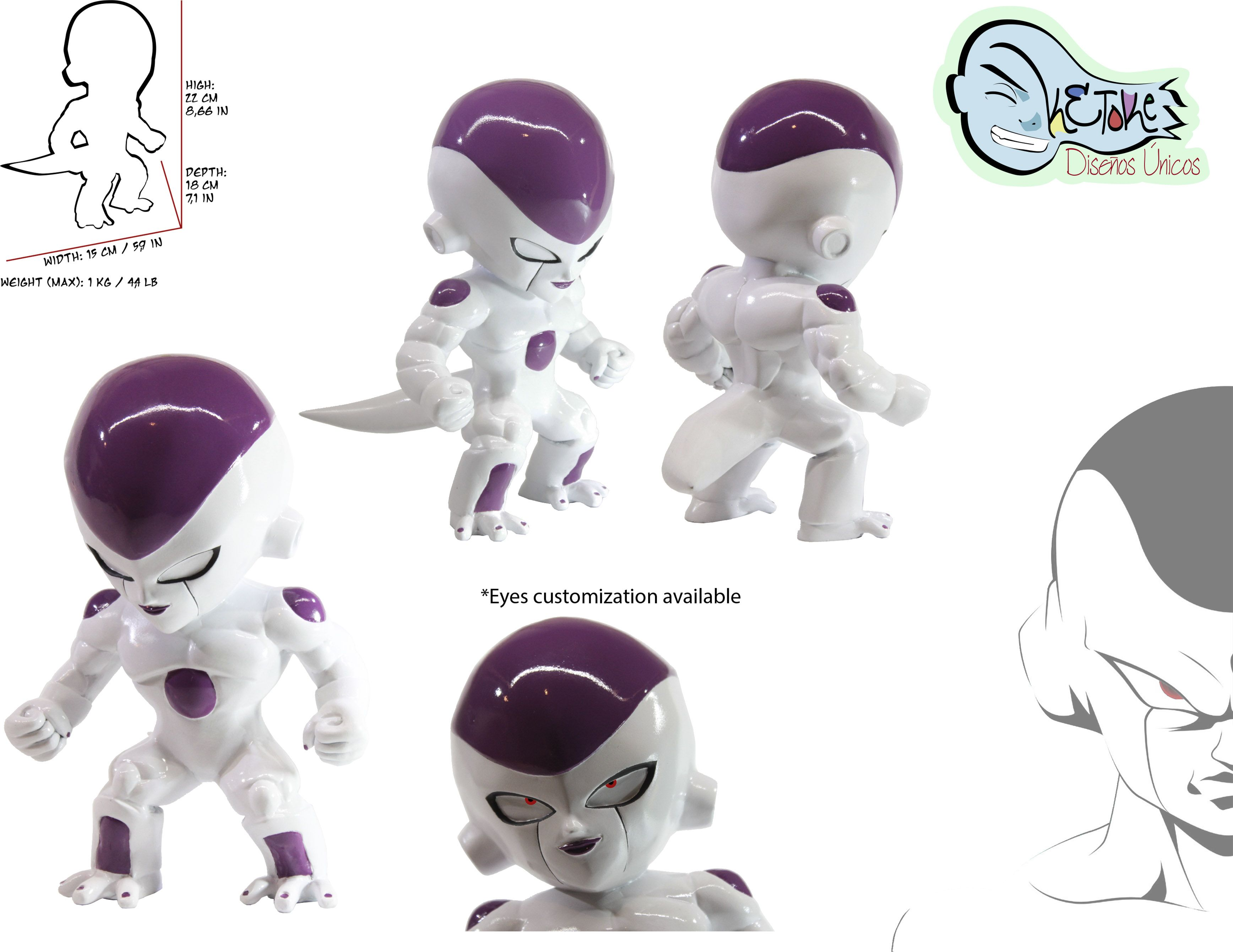 Figura de colección 2015, edición limitada, disponibles sólo en www.ketoke.net