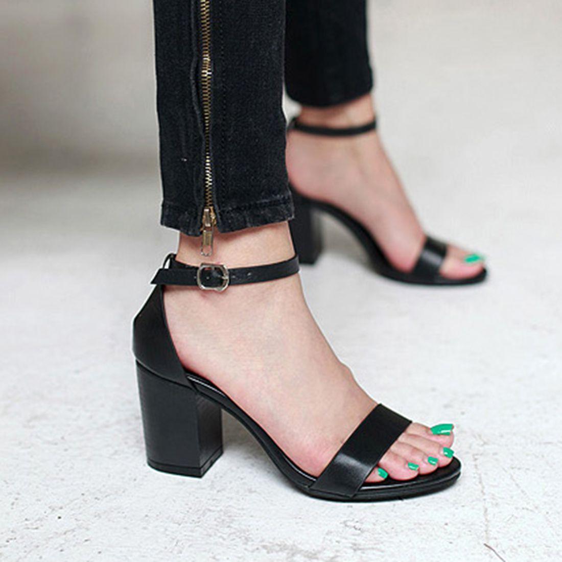 Women Summer Straps Sandals Heels