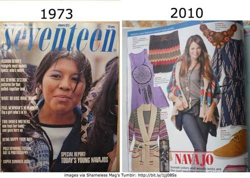 From Native American cover story to cultural appropriation