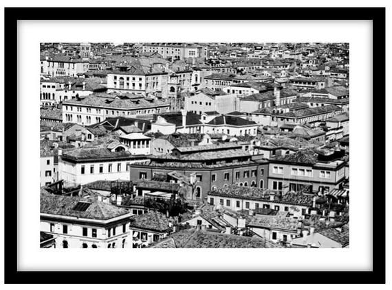 Photo of The Rooftops of Venice, Italy.  Photograph is printed in 308gsm Hahnemuhle fine art paper (Unmatted)