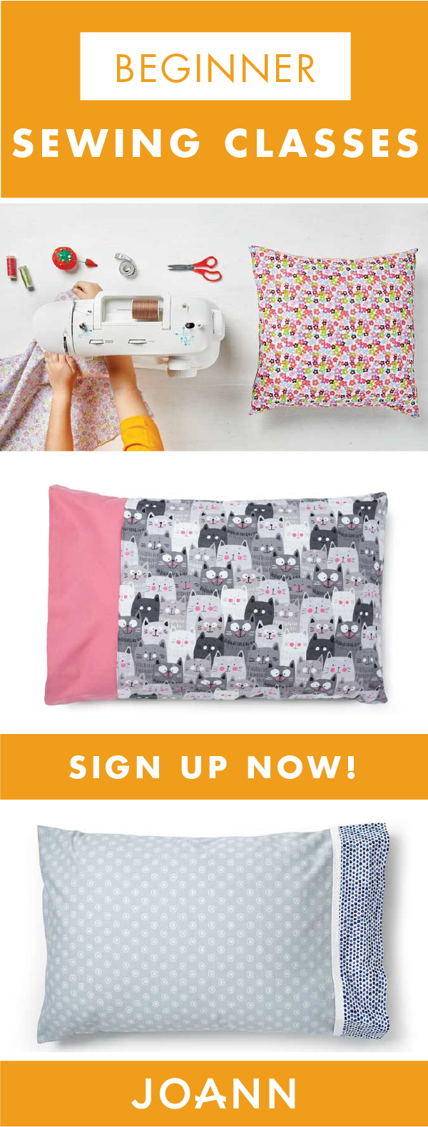 Always wanted to learn how to sew? You\'re in luck! JOANN offers ...
