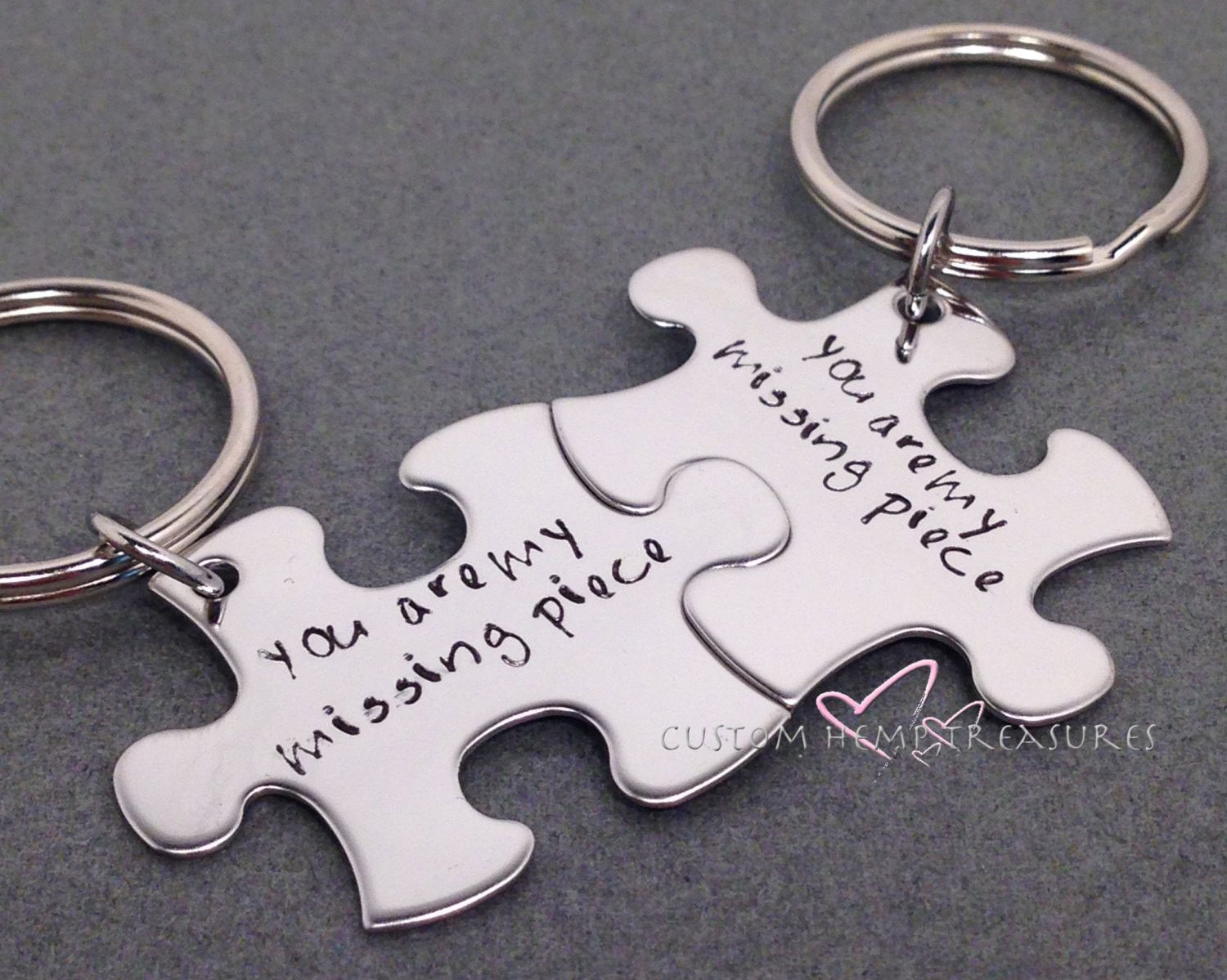 The missing piece tampa fl - Couples Key Chains You Are My Missing Piece Long Distance Relationship Ldr Gift
