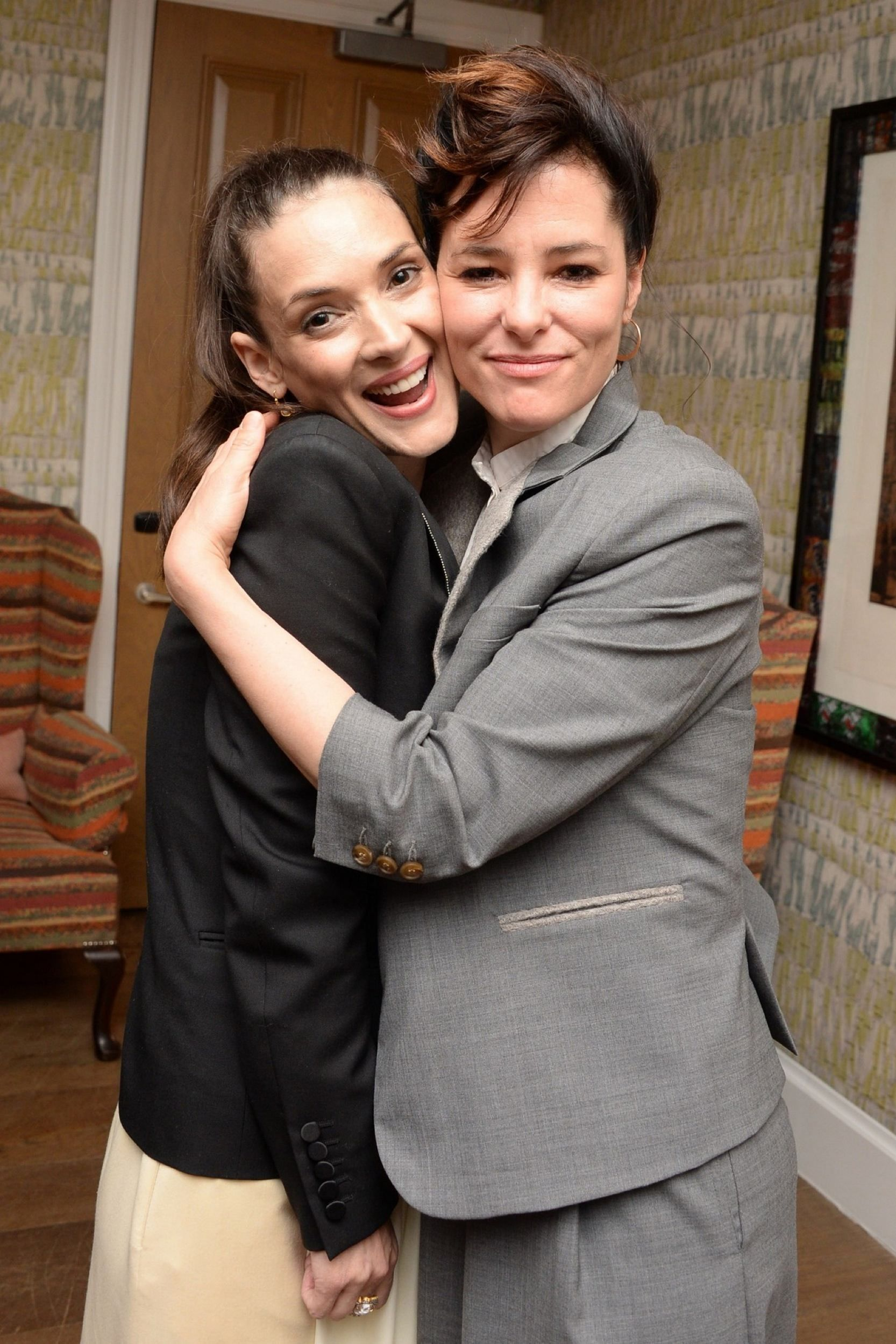 Winona and another favorite of mine Parker Posey, Turks and Caicos  Screening in NY. My question is---when are they gonna do a movie together?  I'm waiting!