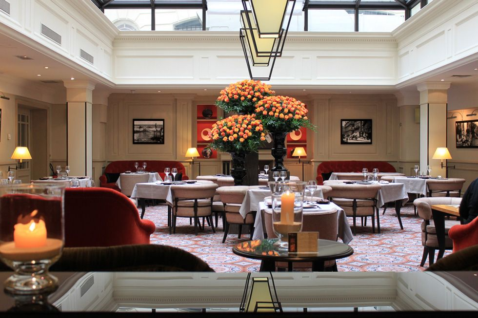 Restaurant Lumiere At Hotel Scribe Paris Managed By Sofitel