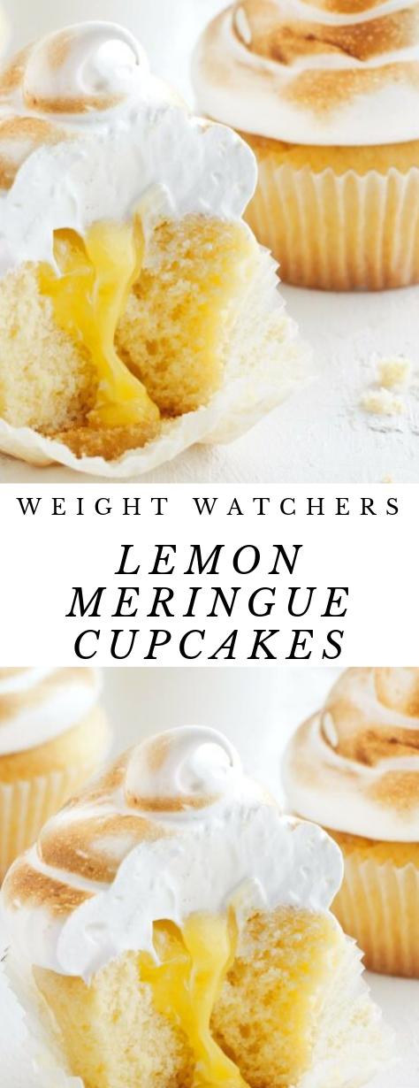 LEMON MERINGUE CUPCAKES #lemonmeringuecupcakes