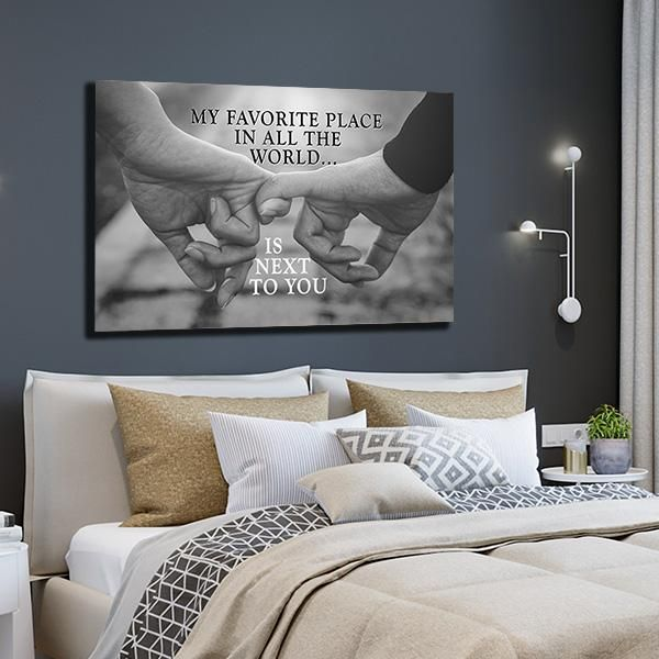 """MY FAVORITE PLACE"" PREMIUM CANVAS - GearDen"