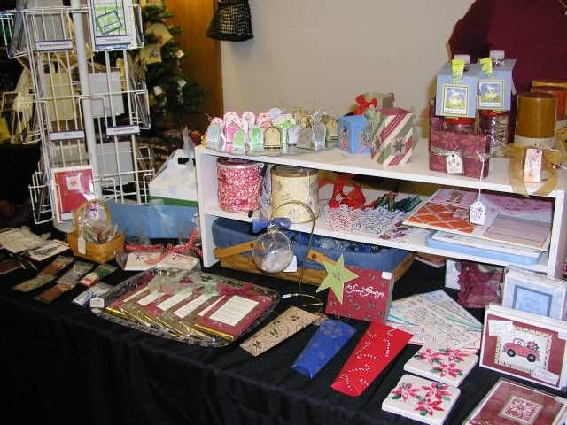 Christmas Craft Booth Ideas Part - 19: Christmas Craft Fair Display By TMRoberge - Cards And Paper Crafts At  Splitcoaststampers