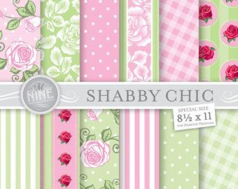 Photo of 54+ trendy shabby chic pattern paper pink roses