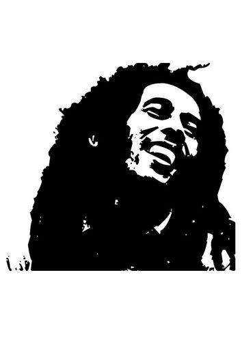 Coloring Page Bob Marley Bob Marley Poster Drawing Art