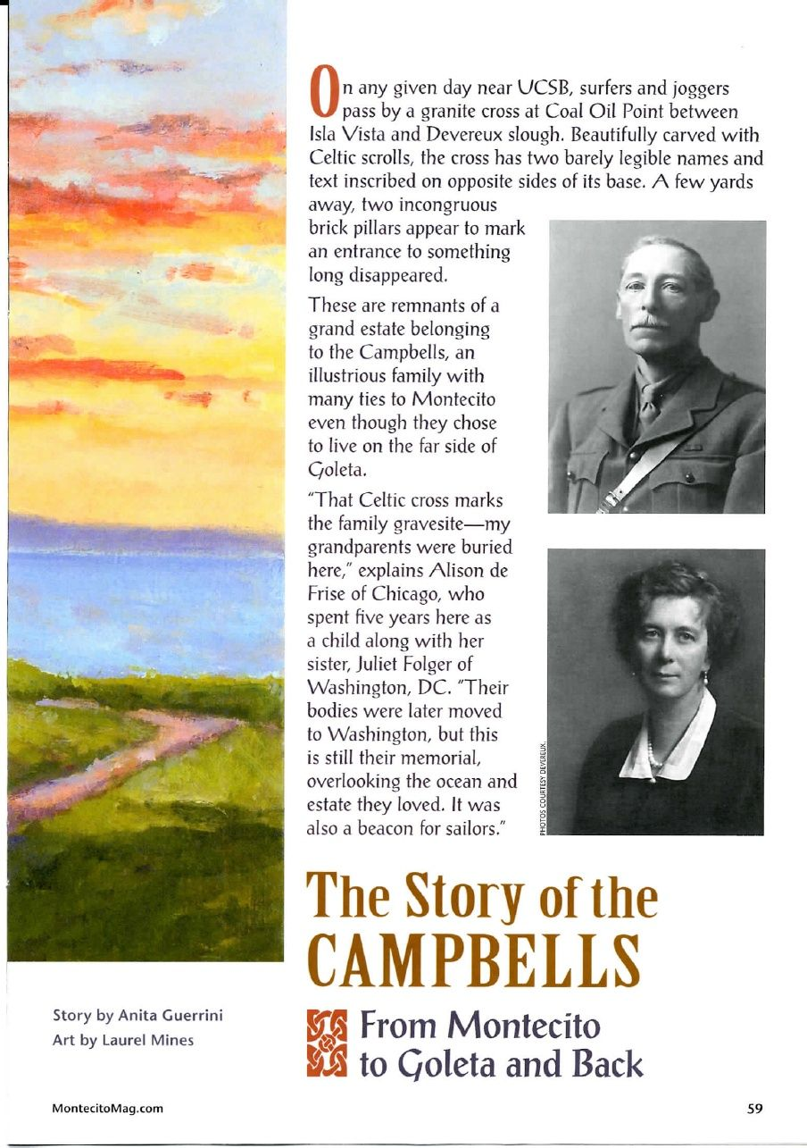 The Story of the Campbells: From Montecito to Goleta and Back   Anita Guerrini - Academia.edu