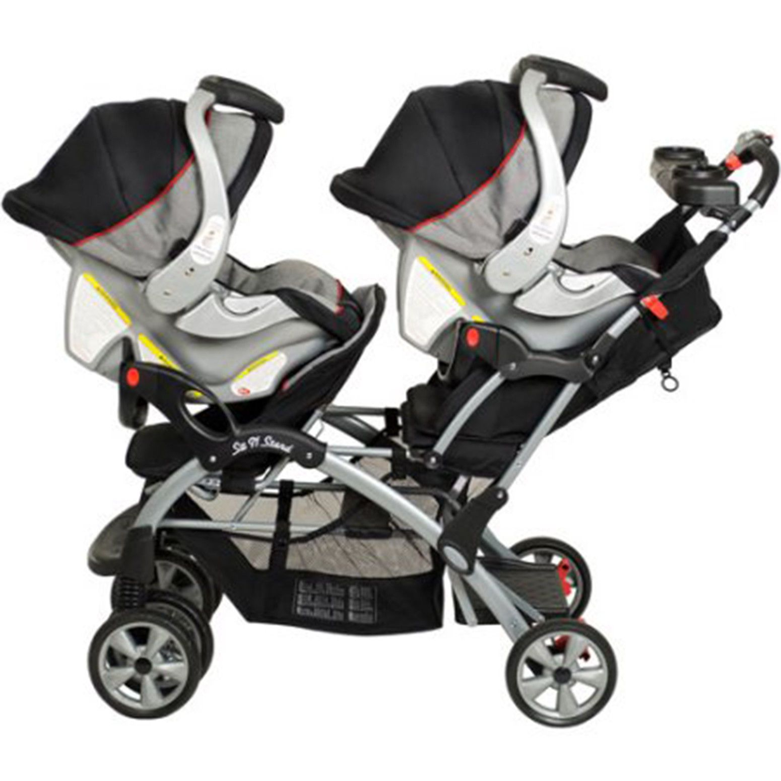 31++ Double stroller with car seat for infant and toddler info