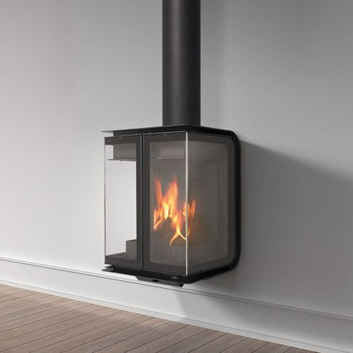 Rocal Oban Wall Mounted Wood Burning Stove From Fireplace Products