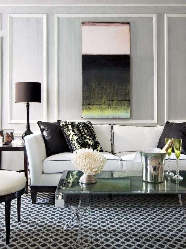 21 Contemporary Chic Living Room Design Ideas | Pinterest ...