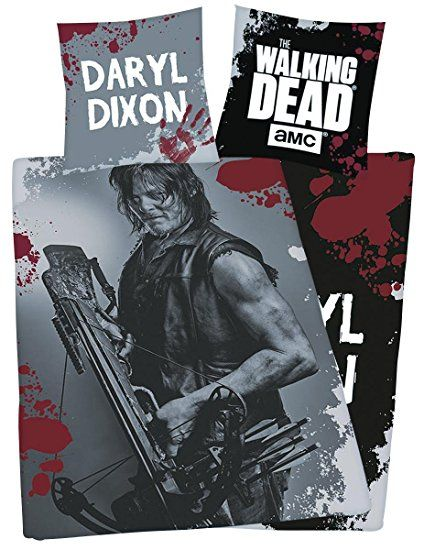 The Walking Dead Daryl Dixon Bettwäsche Multicolour Walking Dead