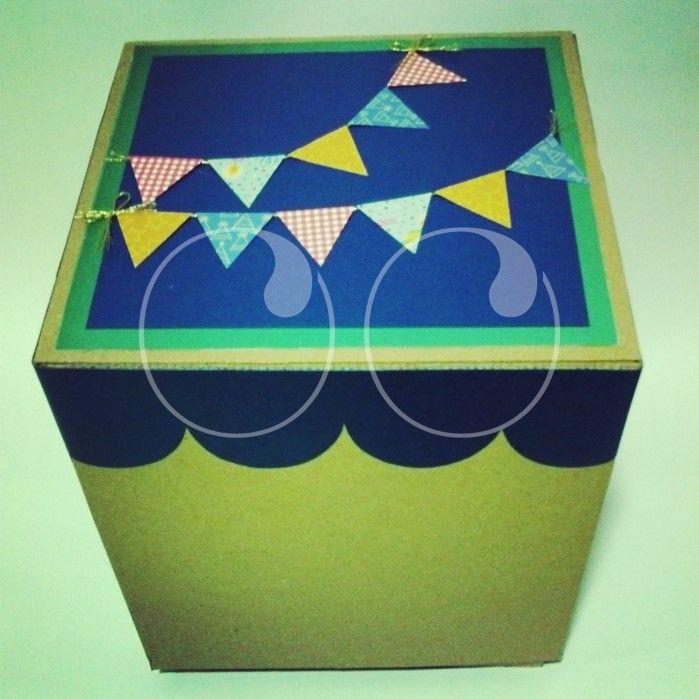 Cajas en cartón decoradas, especiales para regalos grandes y sorpresas.!!