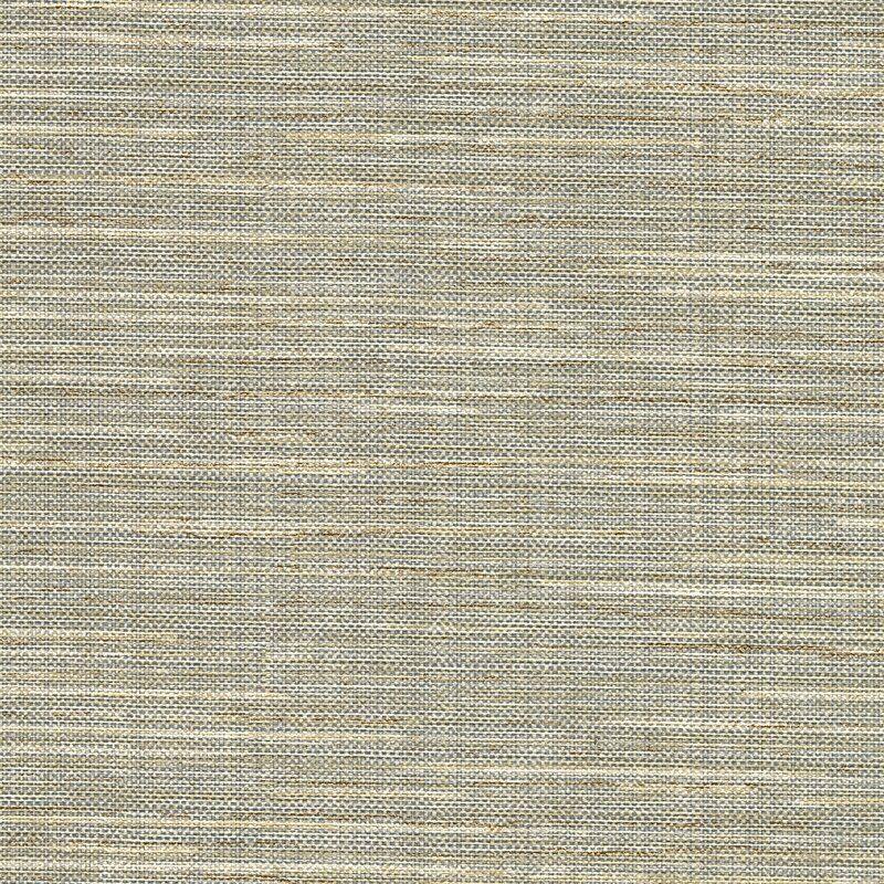"Tyree Faux Grasscloth 27' L x 27"" W Texture Wallpaper Roll"