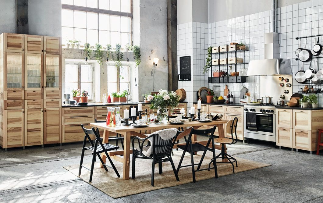 Ikea Huonekaluja Sisustusideoita Ja Inspiraatiota Simple Kitchen Remodel Kitchen Interior Home Kitchens