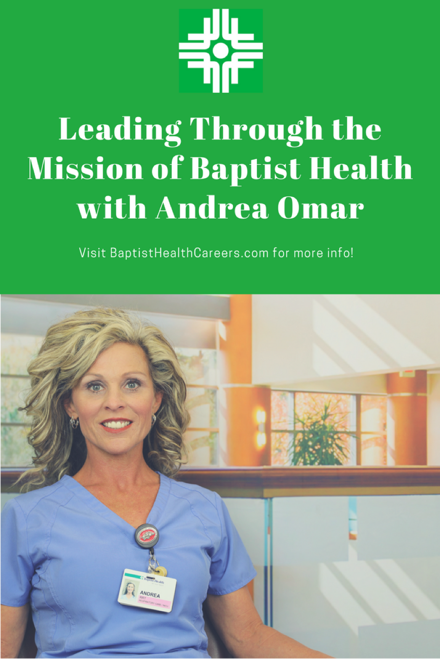 Leading Through the Mission of Baptist Health with Andrea