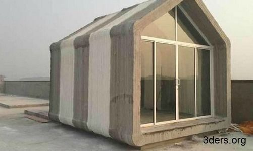 Chinese company 3D-prints a house for $4,800