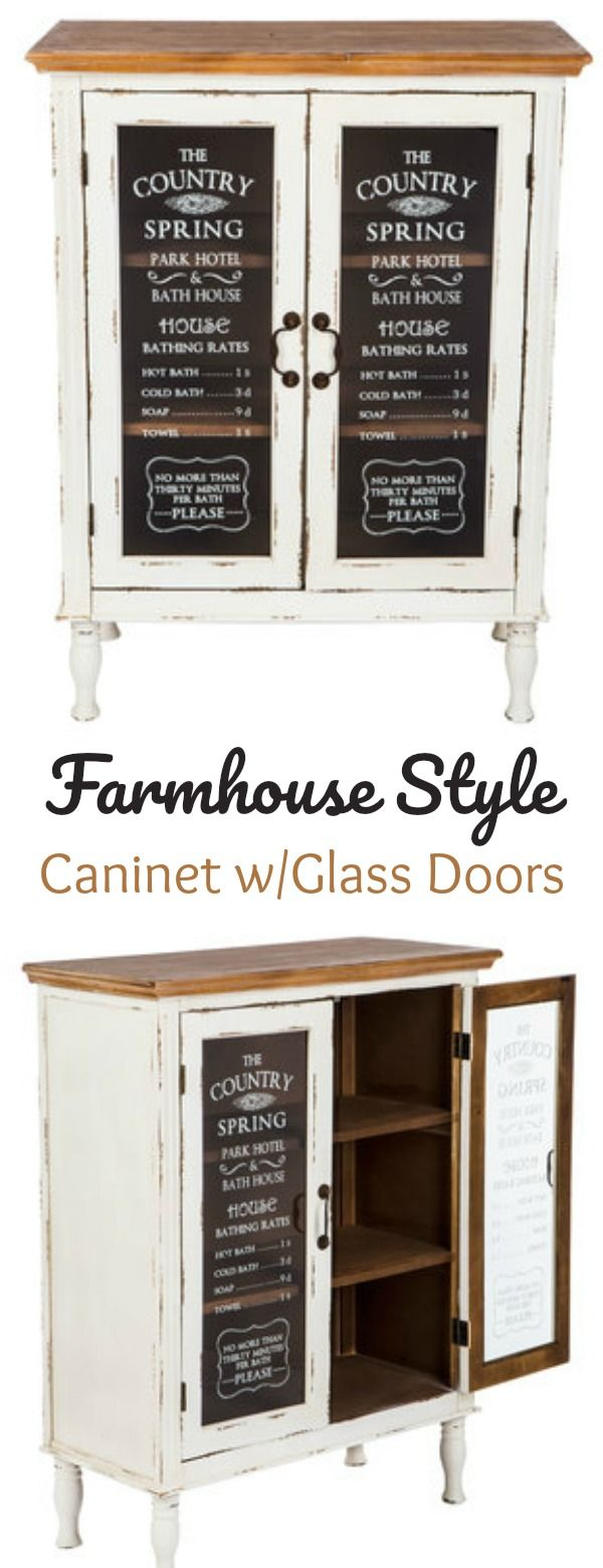 Farmhouse with Glass Doors this charming
