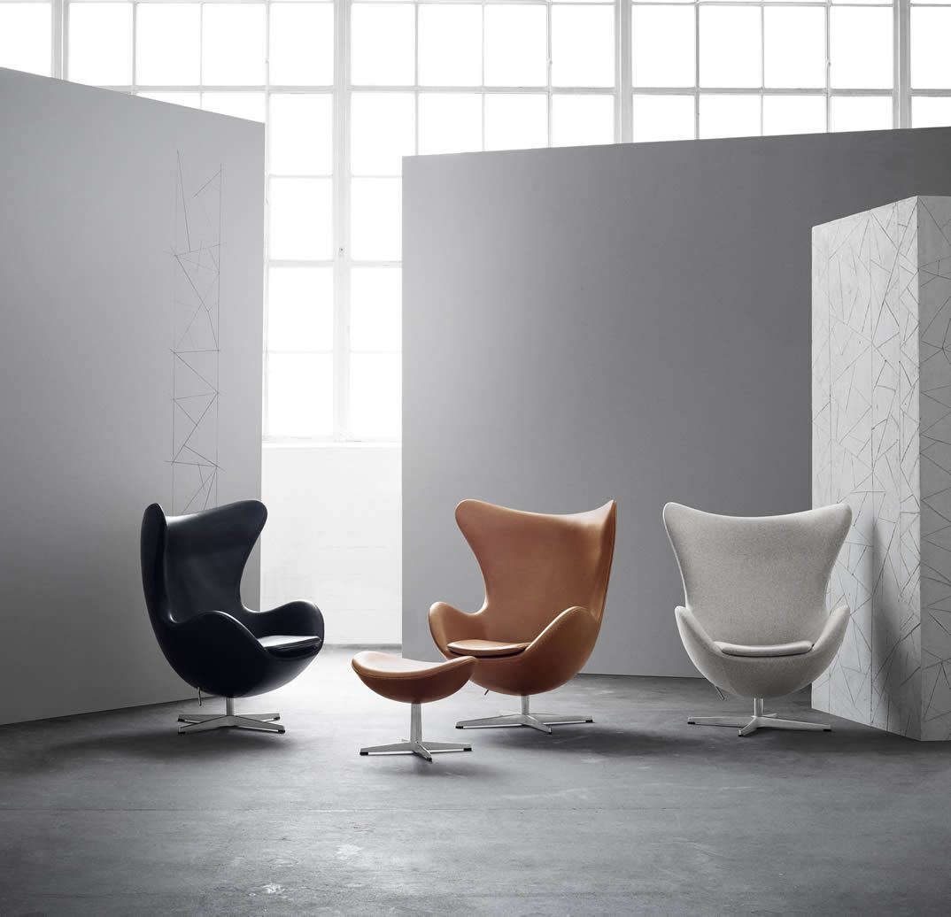 Hansen Sessel Fritz Hansen Egg Chair Das Ei Bezug Divina In 2019 Sofa Sessel
