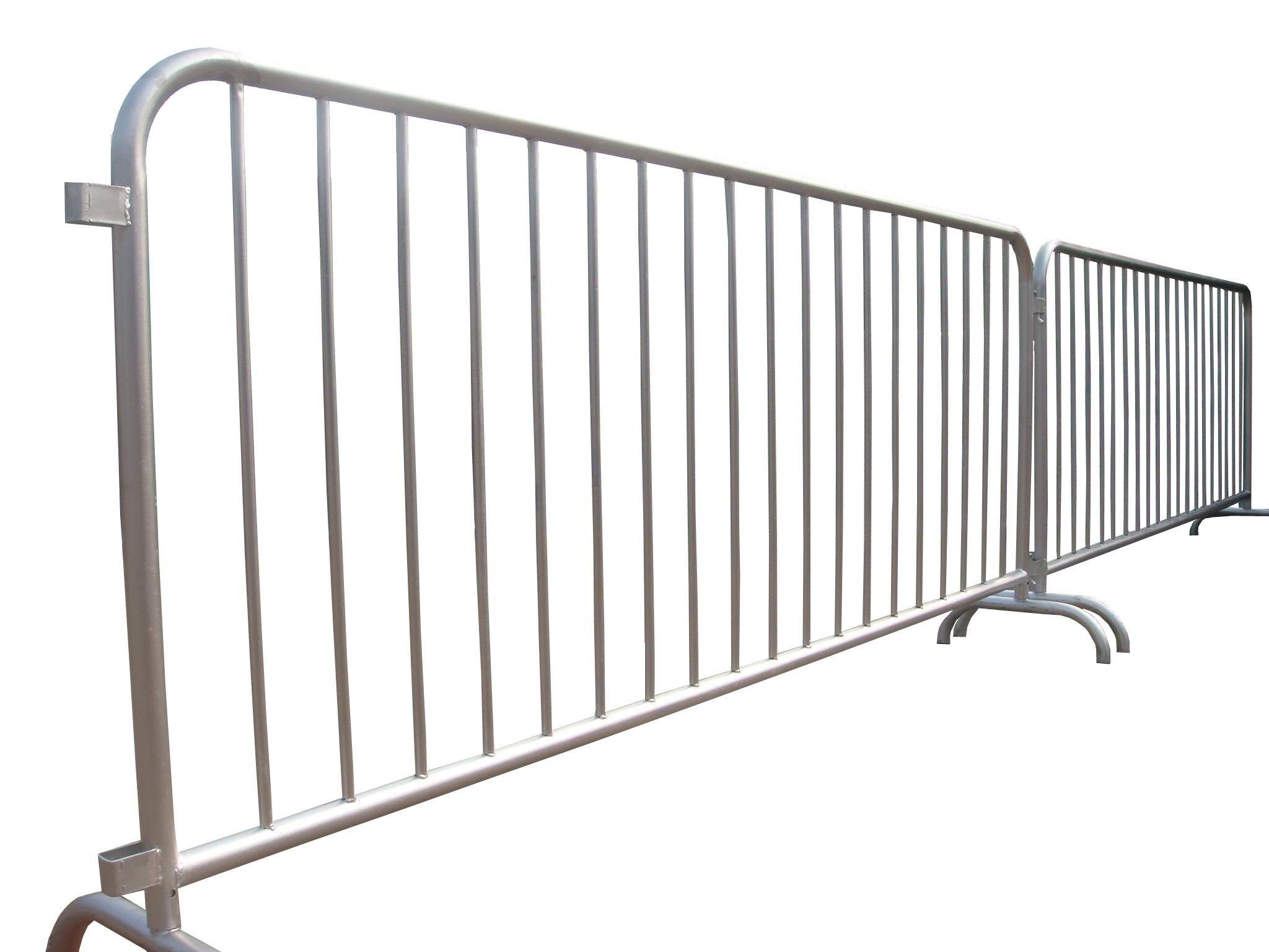 Hot Dipped Galvanized Crowd Control Barriers for event for