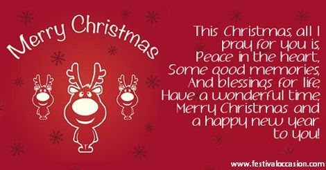 christmas family message card merry christmas messages pinterest