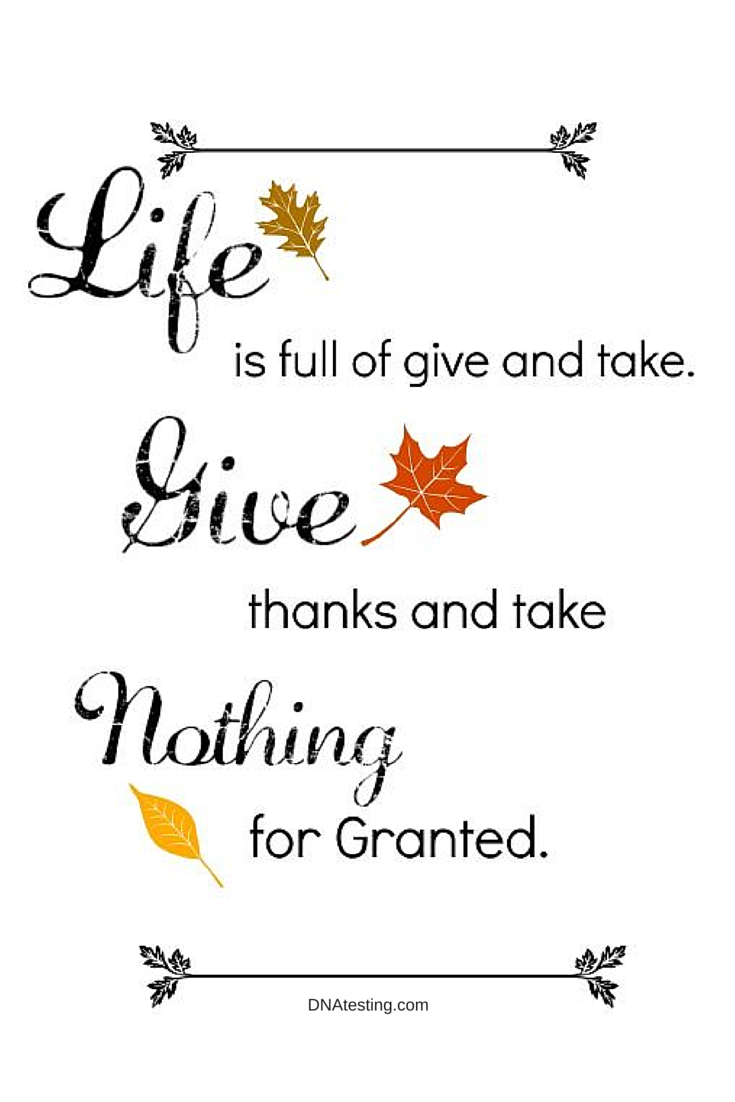 INSPIRATION AND QUOTES: Life is full of give and take