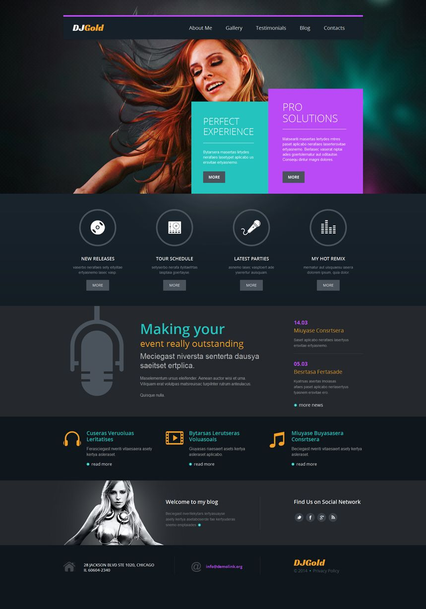 Webdesign Web Color Inspiration Ideas Wordpress Theme Websites Blog
