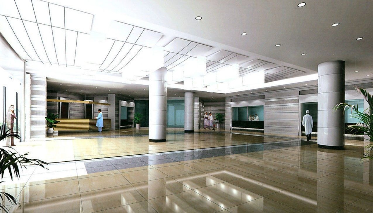 Home Interior : Hospital Lobby Interior D Design ...