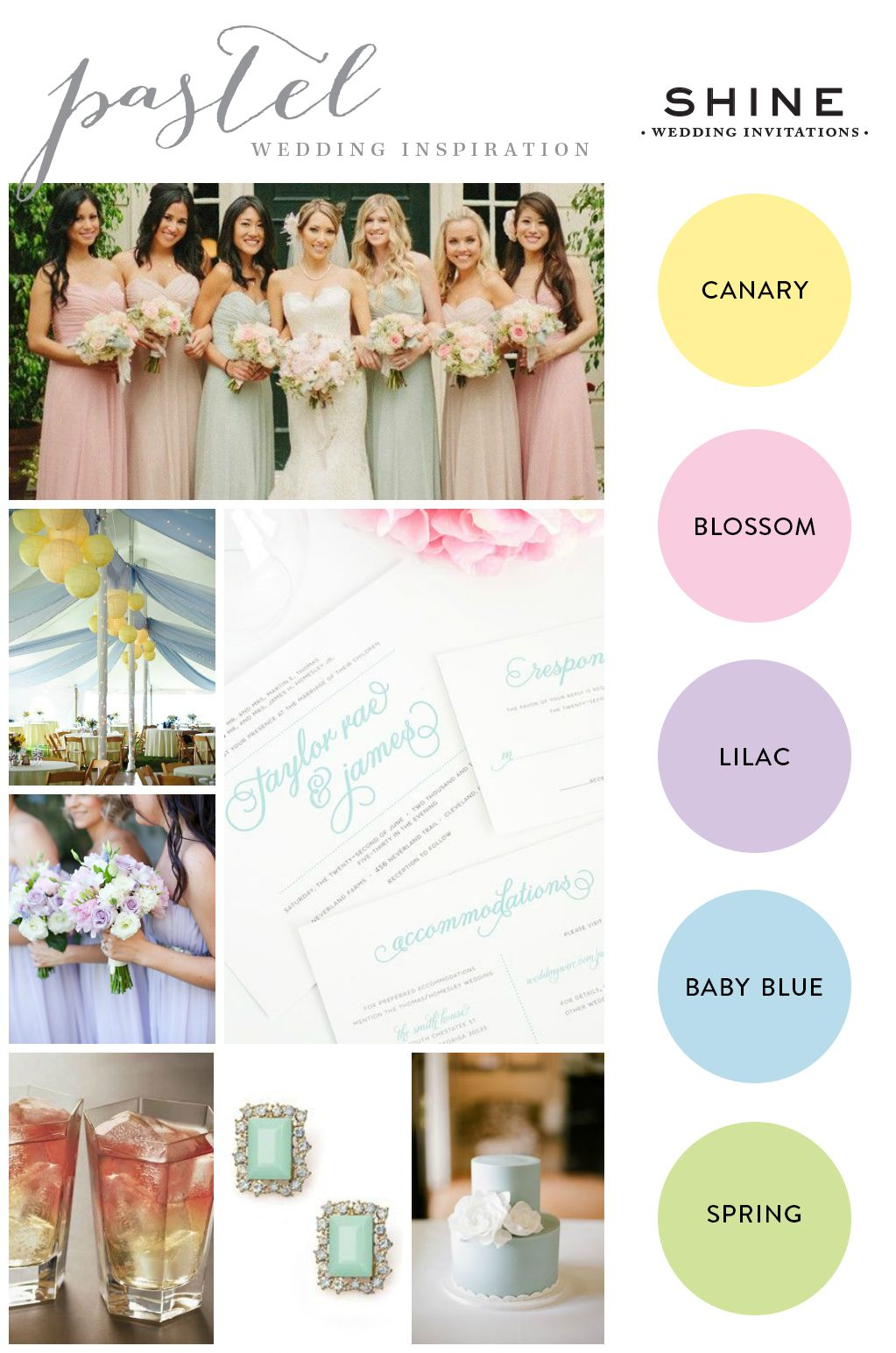 Pastel Wedding But With Mint Instead Of Green: Seaform Green And Purple Wedding Invitations At Reisefeber.org