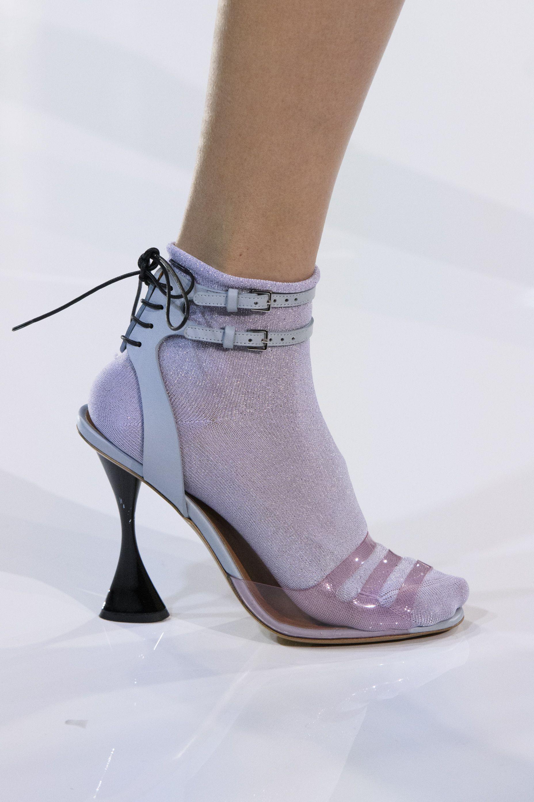 transparent footwear Emporia ARMANI SS-18