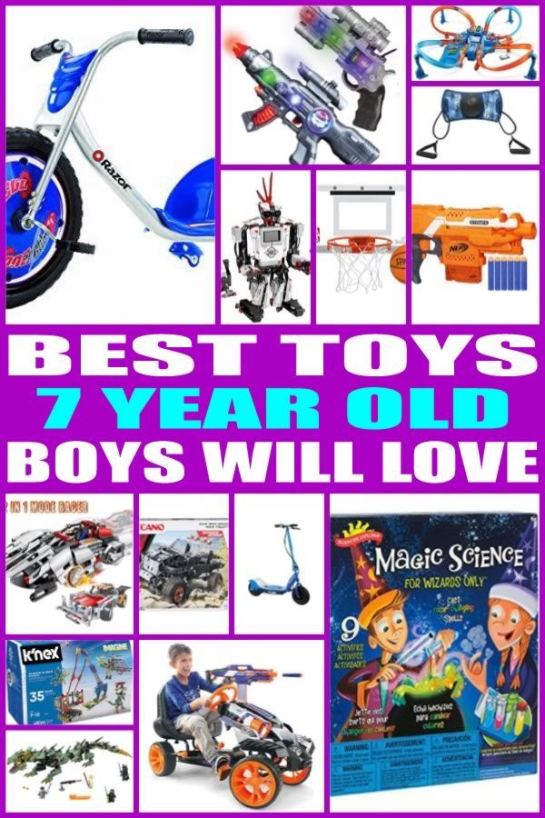 Find The Best Toy Gifts For 7 Year Old Boys Kids Would Love Any Of These Toys From This Ultimate Gift Guide Perfect Seven